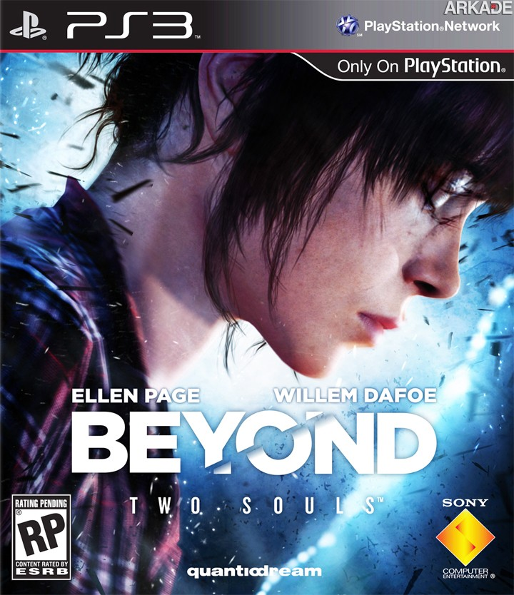 Beyond: Two Souls: Sony revela a arte oficial da capa do game