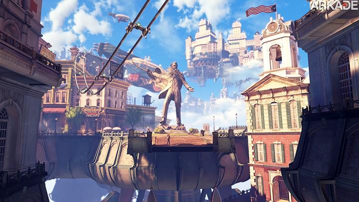 Análise Arkade: A supremacia de Columbia em Bioshock Infinite (PC, X360, PS3)