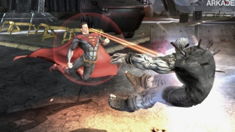 Análise Arkade - a pancadaria exagerada de Injustice: Gods Among Us (PS3, X360, Wii U)