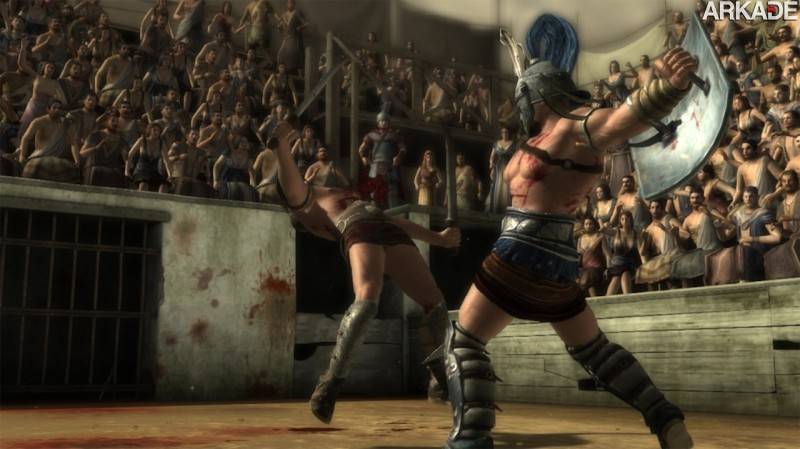 spartacuslegends1 Spartacus Legends: seriado de TV vai ganhar brutal game free to play, confira o trailer