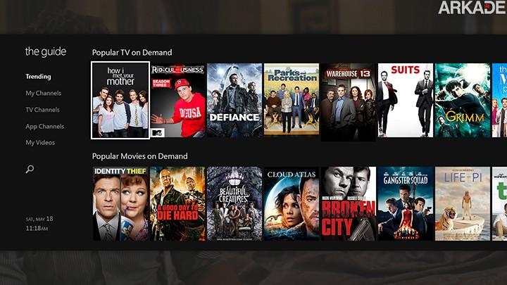 XBOX One: Microsoft quer patentear conquistas para TV