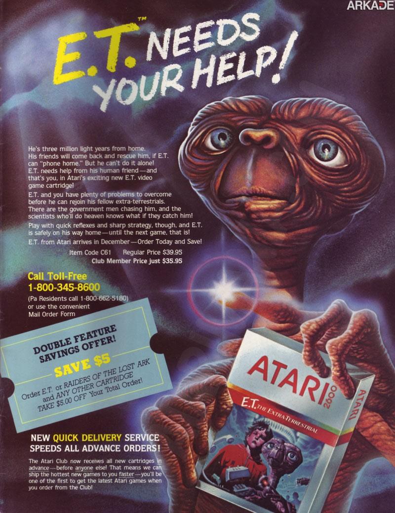Documentário vai buscar os lendários cartuchos de Atari que estão enterrados no deserto!