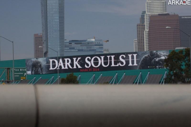 Namco Bandai anuncia mês de lançamento de Dark Souls 2: março de 2014