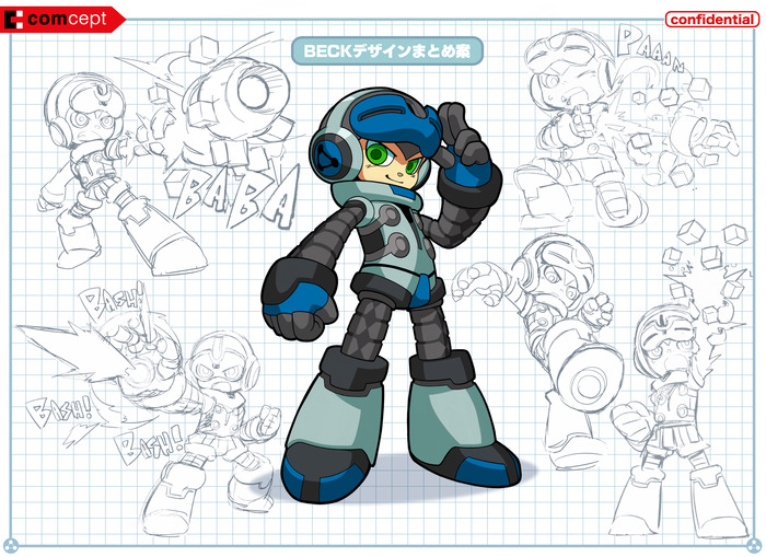Mighty No.9 é o novo projeto do criador de Mega Man
