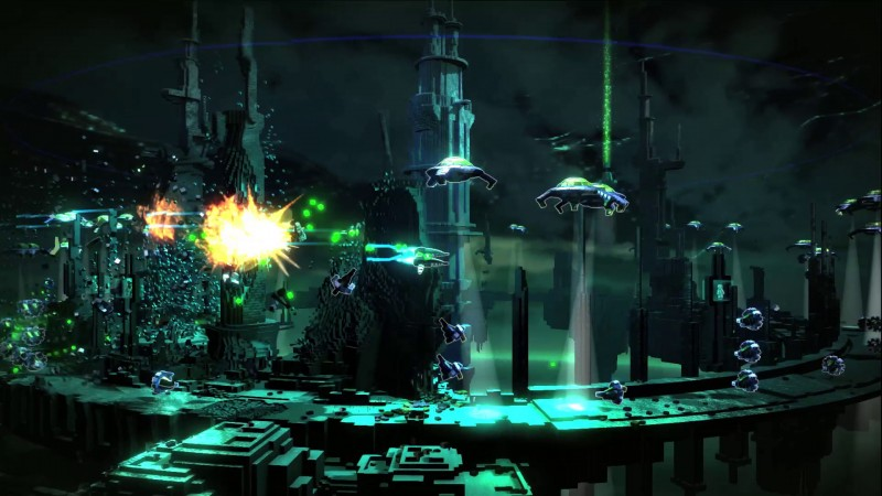 Resogun: Space shooter exclusivo para PS4 ganha novo trailer