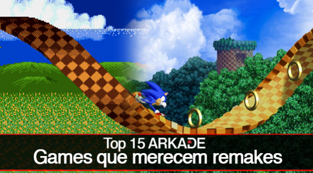 Top 15 Arkade: games clássicos que merecem remakes