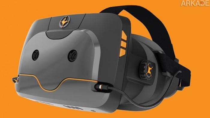 Totem: novo aparelho de Realidade Virtual será compatível com consoles e PC