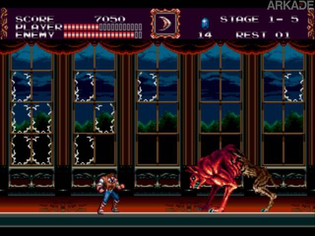 RetroArkade: relembrando os 20 anos de Castlevania Bloodlines (Mega Drive)