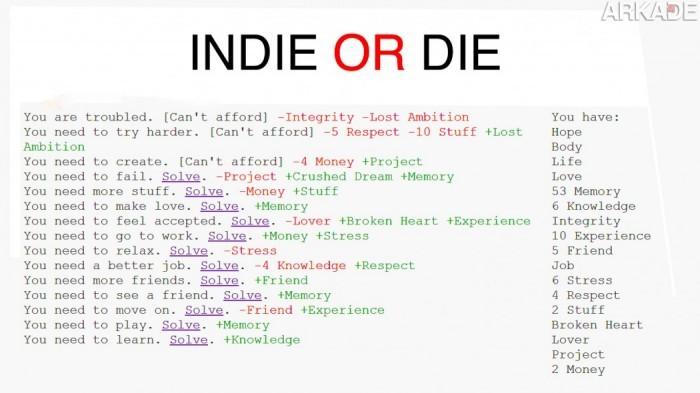 Indie or die como um simples jogo indie pode mudar a sua forma de ver