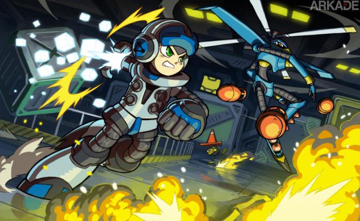 Mighty Nº 9 em ação em mais um vídeo de gameplay