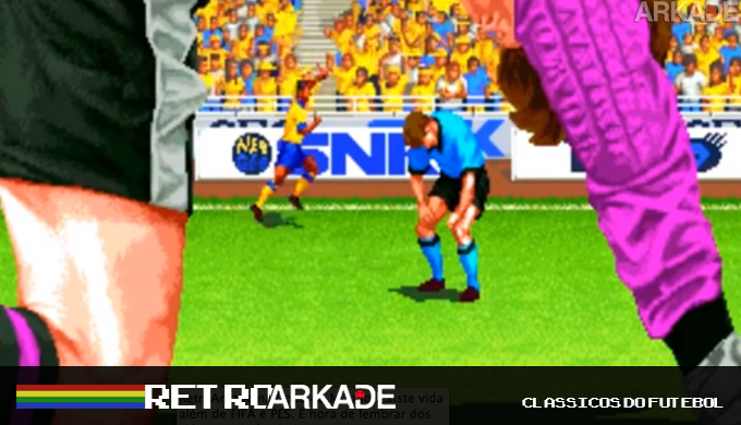 RetroArkade na Copa: Relembre os bons tempos dos jogos de futebol, onde Allejo era rei!