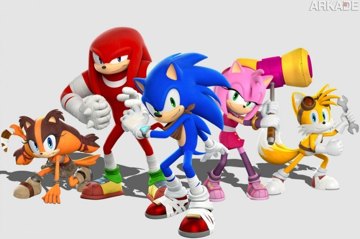 Confira o gameplay de Sonic Boom, que mistura corridas alucinantes, pancadaria e puzzles (Wii U/3DS)