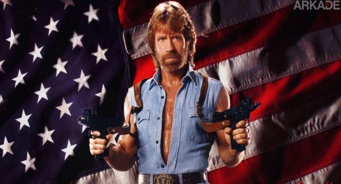 """Chuck Norris registra seu próprio game, """"The World According to Chuck Norris"""""""