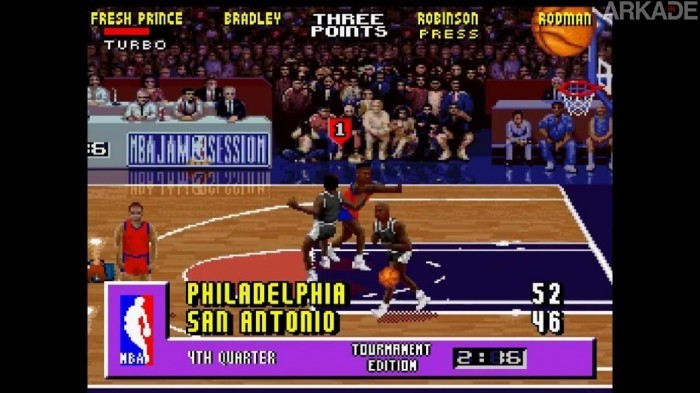 RetroArkade: BOOMSHAKALAKA! Welcome to NBA Jam!