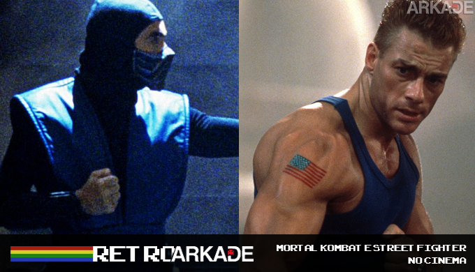 RetroArkade: Street Fighter e Mortal Kombat também travaram lutas no cinema e nos desenhos