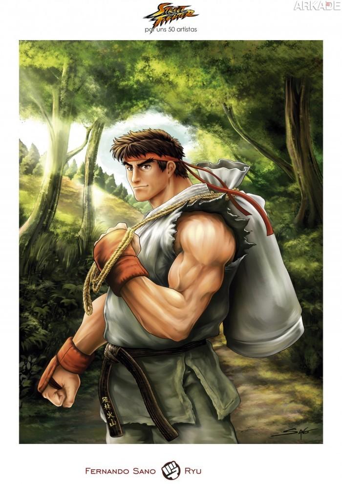 Confira mais um grande tributo de diferentes artistas para Street Fighter