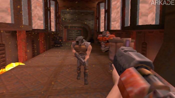 Olha quem recebeu suporte ao Oculus Rift e ficou demais: Quake 2!