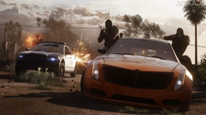 Battlefield Hardline mostra perseguições insanas sobre rodas em novo trailer
