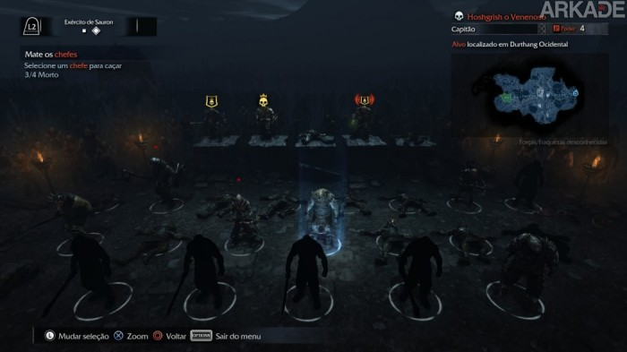 Análise Arkade: Terra-Média: Sombras de Mordor e a diversão brutal de caçar orcs