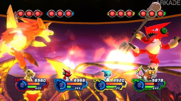 digimon all star battle screenshot 061 700x393 Análise Arkade   A pancadaria digital em Digimon All Star Rumble