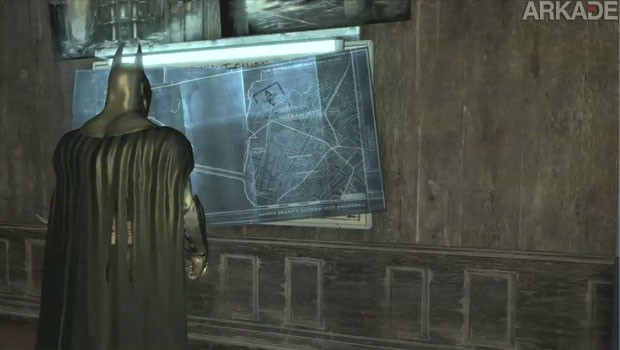 Encontraram um easter egg em Batman: Arkham City três anos após seu lançamento, vem ver!