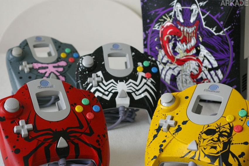 Conheça os impressionantes consoles customizados de Oskunk