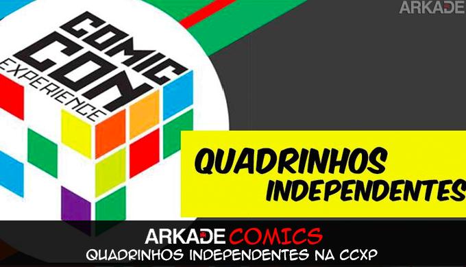 Arkade Comics: Como quadrinhos independentes se tornaram destaque da Comic Con Experience.