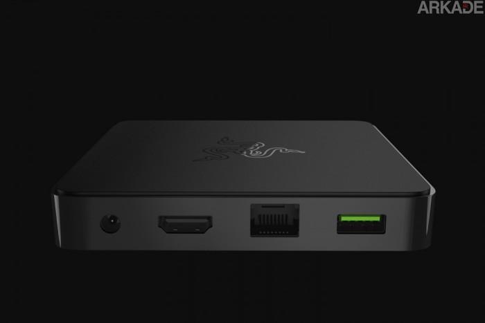 Razer lançará no Brasil seu console que roda jogos Android e fará streaming do PC