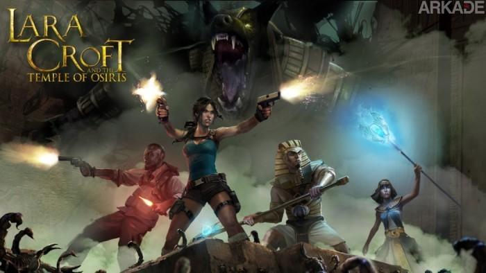 Análise Arkade: explorando tumbas com os amigos em Lara Croft and the Temple of Osiris