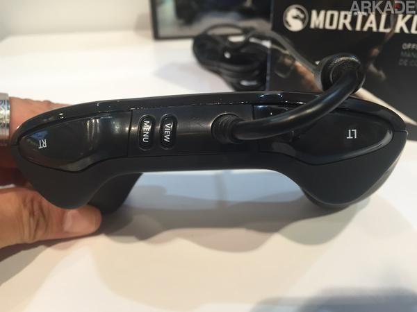 O controle oficial de Mortal Kombat X lembra muito o bom e velho controle do Sega Saturn