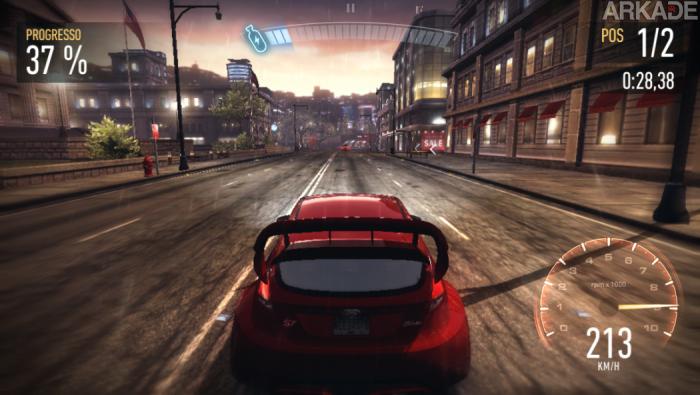 Análise Arkade: NFS No Limits resgata os bons tempos de Underground nos dispositivos móveis, mas sem freios.