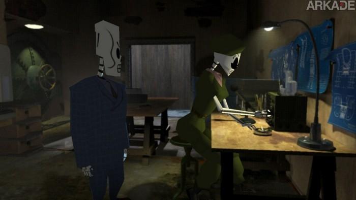 Análise Arkade: Grim Fandango Remastered traz de volta o mundo dos mortos com muita competência