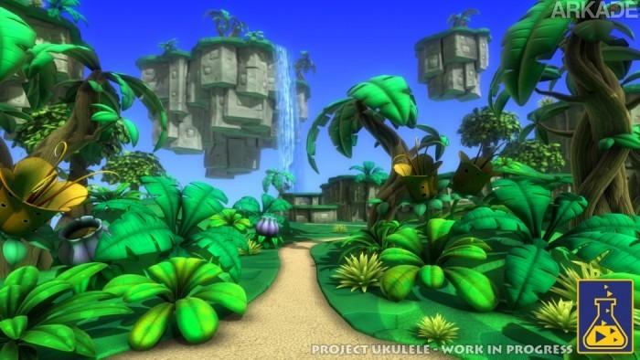 """Project Ukulele: """"Sucessor espiritual"""" de Banjo-Kazooie ganha novas imagens e planos para um Kickstarter"""