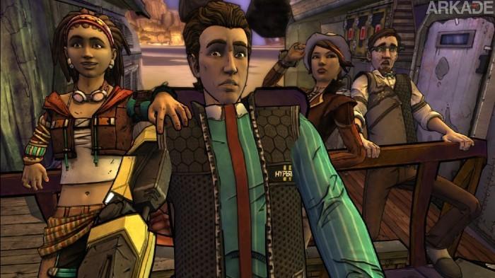 Análise Arkade: A hilária jornada de Tales from the Borderlands - Atlas Mugged (Season 1, Ep. 2)