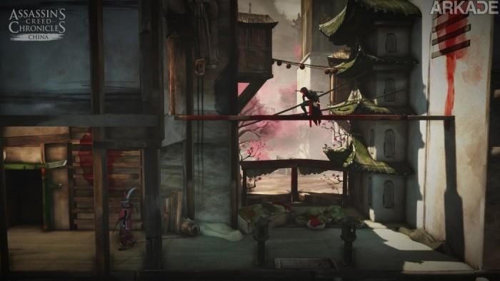 Jogamos Assassin's Creed Chronicles, jogo 2.5D da franquia que terá três histórias diferentes