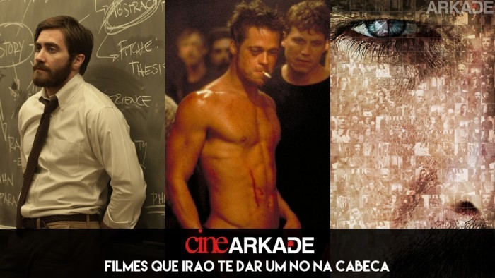 Cine Arkade: Filmes que irão te dar um nó na cabeça