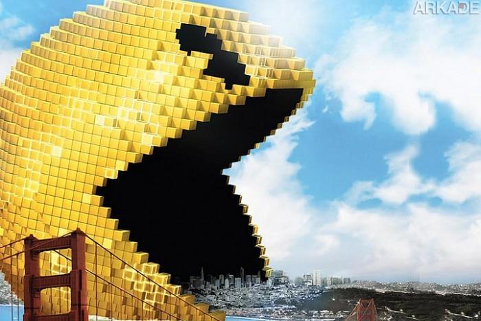 Pixels: Confira o trailer do filme sobre videogames estrelando Adam Sandler e Peter Dinklage