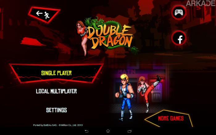 RetroArkade: Double Dragon, onde para salvar a garota é preciso sair na porrada com o próprio irmão!