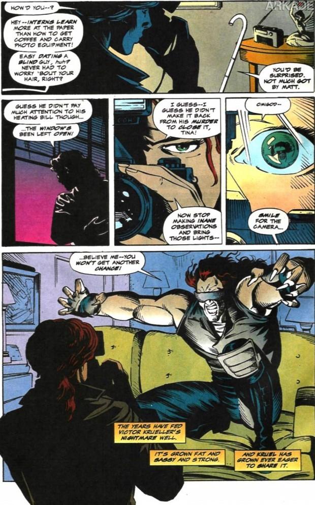 Arkade Comics: O Trágico Destino das Namoradas do Demolidor