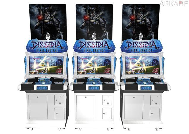 Dissidia Final Fantasy, o novo jogo de luta da série de RPG, pode sair também no PS4