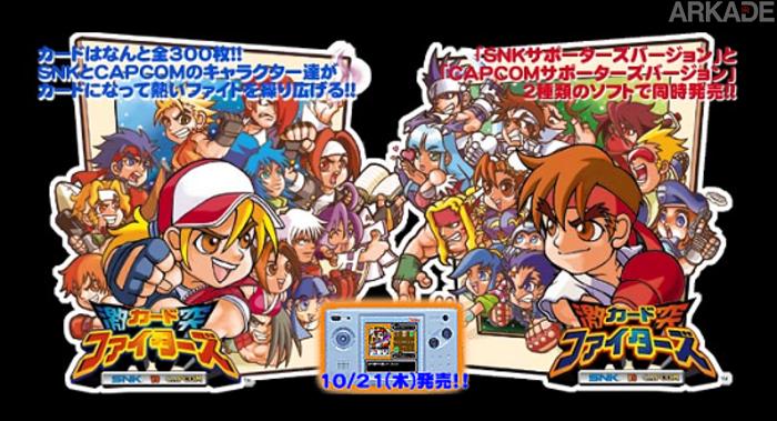 The Lost Games: SNK vs. Capcom - Card Fighters Clash e o primeiro encontro de duas gigantes!