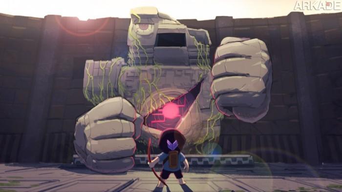 Preview Arkade: Jogamos Titan Souls e desafiamos sua grandiosidade na cena independente de games