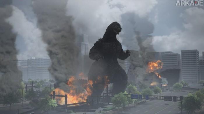 Hora de conferir uma tonelada de novas imagens e o trailer de Godzilla