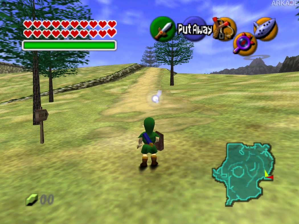 Speedrunner termina Zelda Ocarina of Time em 4 minutos e 51 segundos