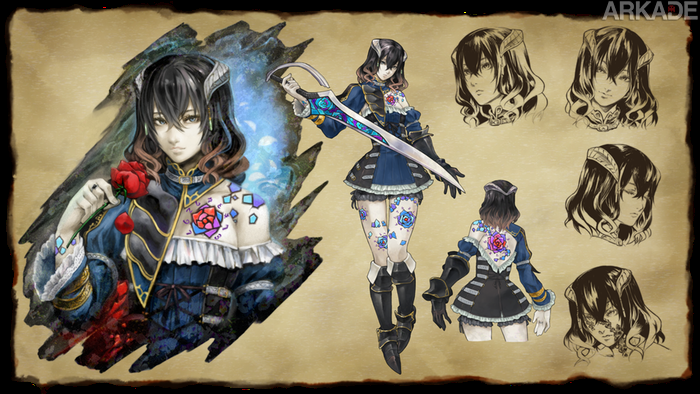 Bloodstained: Novo game do produtor de Castlevania ultrapassa meta no Kickstarter