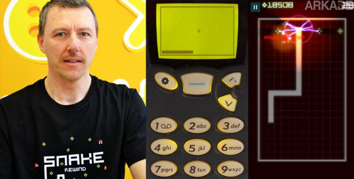 """Entrevistamos Taneli Armanto, criador do clássico jogo de celular Snake, o """"jogo da cobrinha""""."""