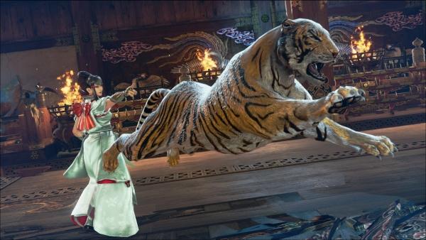 Tekken 7: esposa de Heihachi Mishima entra na briga... e traz junto seu tigre de estimação!