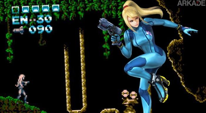 Metroid - Rogue Dawn: Conheça o game feito por fãs que contará a origem de série!