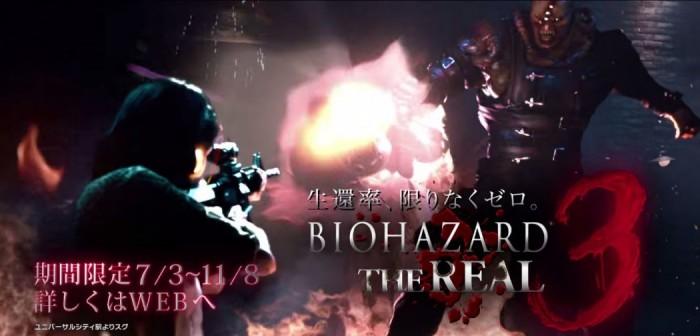 Resident Evil 3 serve de inspiração para incrível atração em realidade virtual