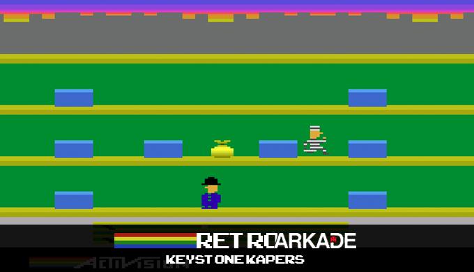 """RetroArkade: Keystone Kapers levou o """"polícia e ladrão"""" da rua para os games"""